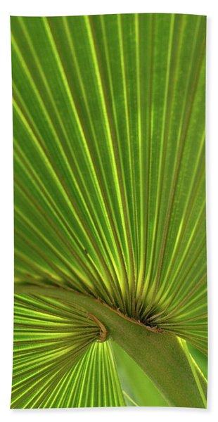 Palm Leaf Bath Towel