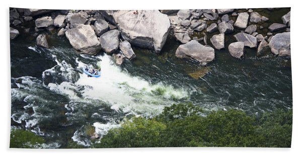 Rafters On The New River 3 Hand Towel