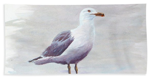 Seagull Hand Towel