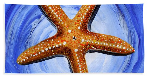 Star Of Mary Hand Towel