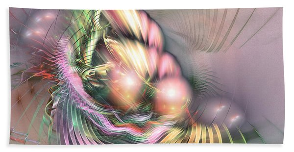 Summer Breeze -abstract Art Bath Towel