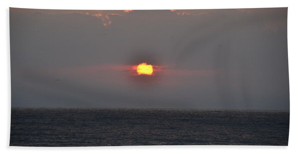 Sunrise In Melbourne Fla Hand Towel