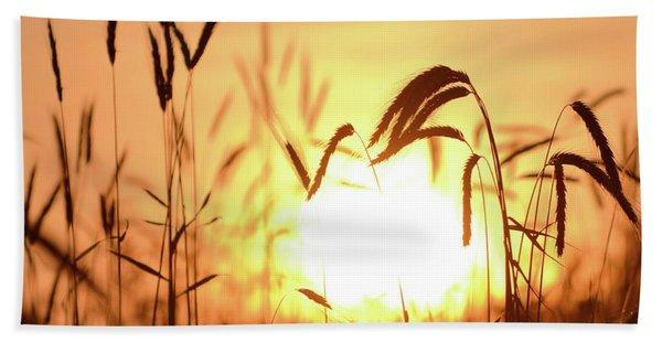 Sunset Rye IIi Bath Towel