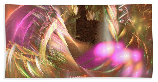 Untamed - Abstract Art Bath Towel