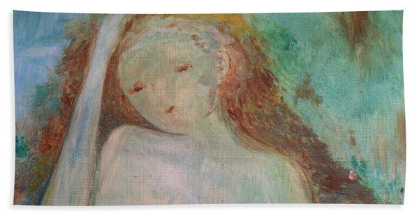 Woman Of Sorrows Hand Towel