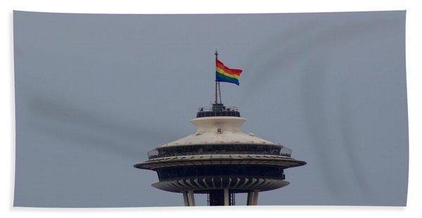 Celebrates Gay Pride  Hand Towel