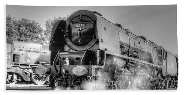 46233 Duchess Of Sutherland At Swanwick Bath Towel