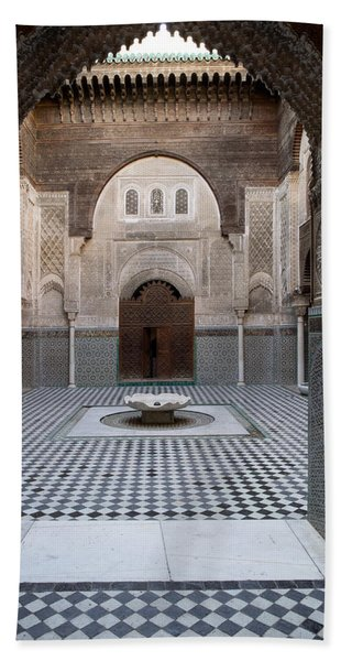 Al-attarine Madrasa Built By Abu Hand Towel