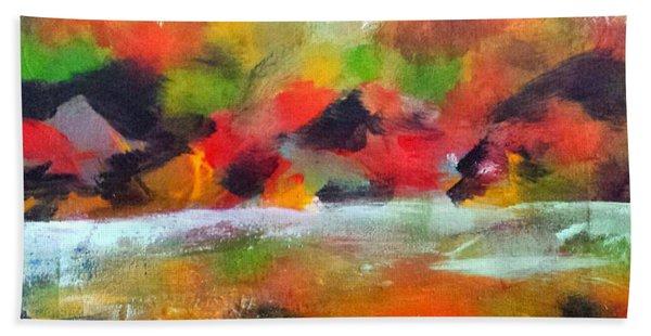 Autumn Blaze Hand Towel