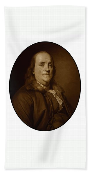 Benjamin Franklin - Three Bath Towel