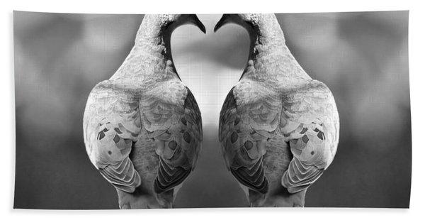 Dove Birds Hand Towel