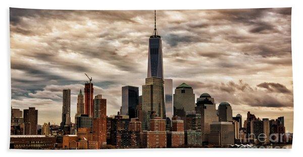 Gotham City Hand Towel