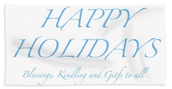 Happy Holidays - Day 2 Hand Towel