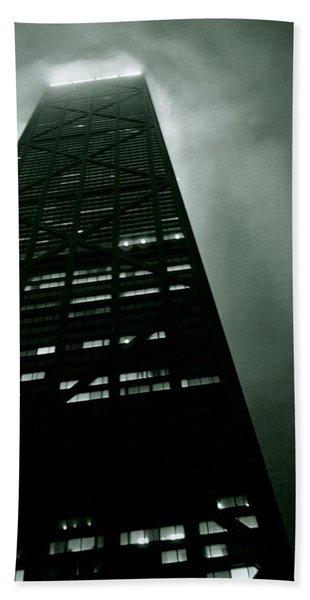 John Hancock Building - Chicago Illinois Hand Towel