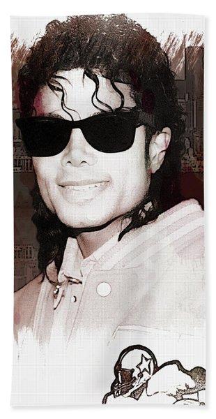 Michael Jackson Bath Towel