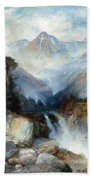 Mountain Of The Holy Cross Bath Towel