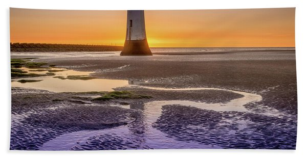New Brighton Lighthouse Hand Towel