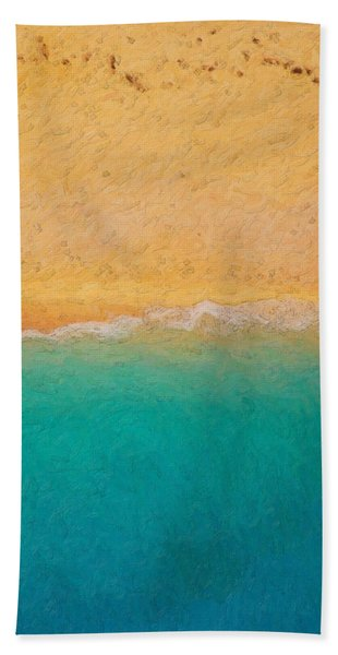 Not Quite Rothko - Surf And Sand Bath Towel