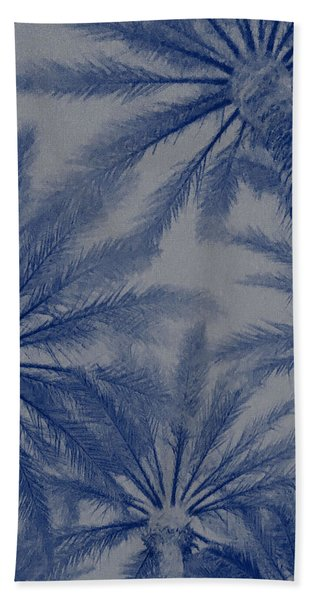 Palm Trees On My Mind Bath Towel