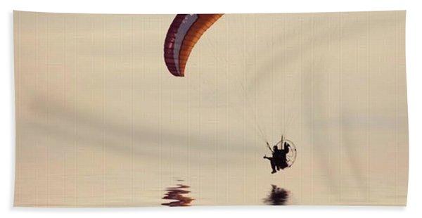 Powered Paraglider Bath Towel