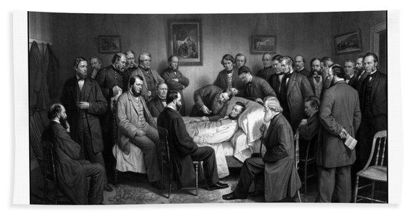 President Lincoln's Deathbed Bath Towel