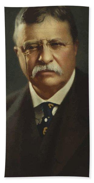 President Theodore Roosevelt  Hand Towel