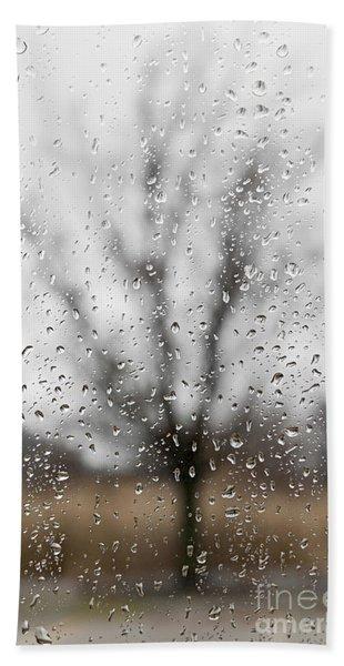 Rainy Day Hand Towel