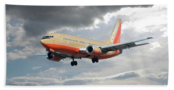 Southwest Airlines Boeing 737 Bath Towel