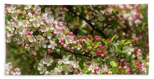 Spring Blossoms Bath Towel