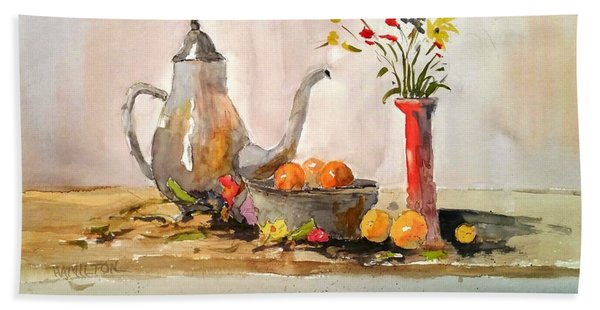 Still Life Bath Towel