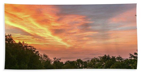 Sunrise July 22 2015 Bath Towel