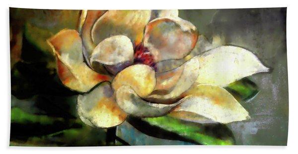 Sweet Magnolia Of Alabama Bath Towel