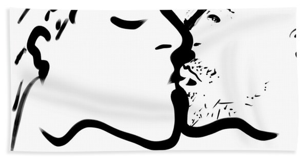 The Kiss Hand Towel