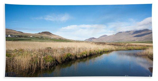 The River Feoghanagh Bath Towel