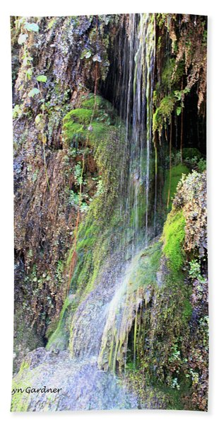 Tonto Waterfall Cave Hand Towel