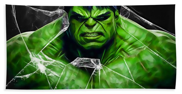 The Incredible Hulk Collection Bath Towel
