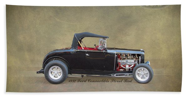 1932 Ford Convertible Street Rod Hand Towel