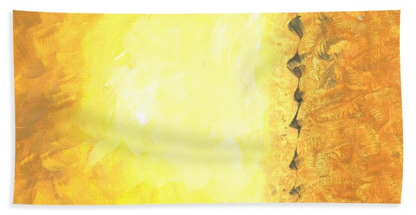 Emergence Painting Hand Towel