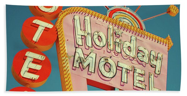 Holiday Motel, Las Vegas Hand Towel