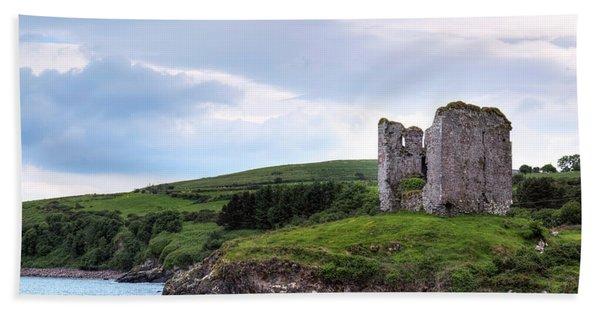 Minard Castle - Ireland Bath Towel