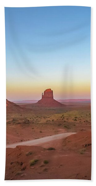 Monument Valley Bath Towel