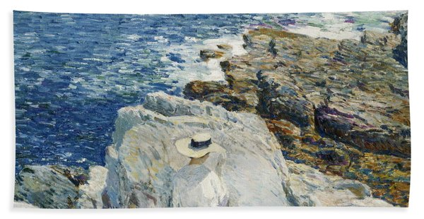 The South Ledges, Appledore Hand Towel