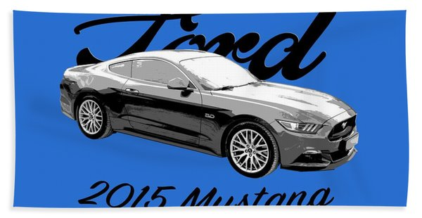 2015 Ford Mustang Hand Towel