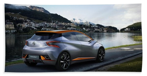 2015 Nissan Sway Concept 3  1 Hand Towel