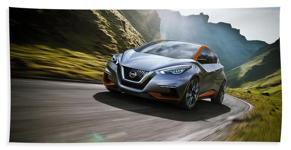 2015 Nissan Sway Concept Wide Hand Towel