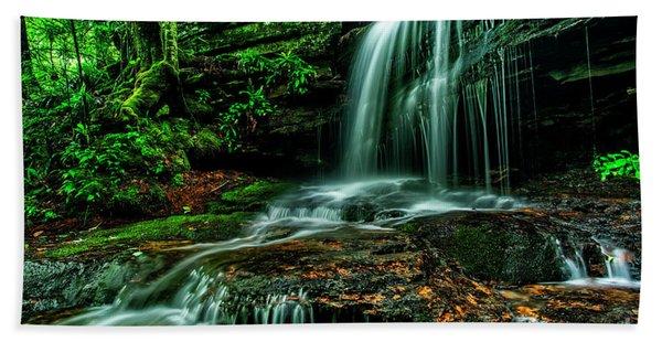 West Virginia Waterfall Hand Towel