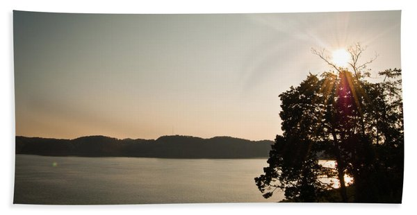 Lake Cumberland Sunset Bath Towel