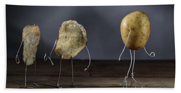 Simple Things - Potatoes Bath Towel