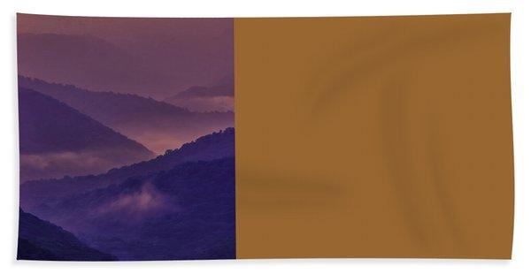 Allegheny Mountain Sunrise Two Bath Towel