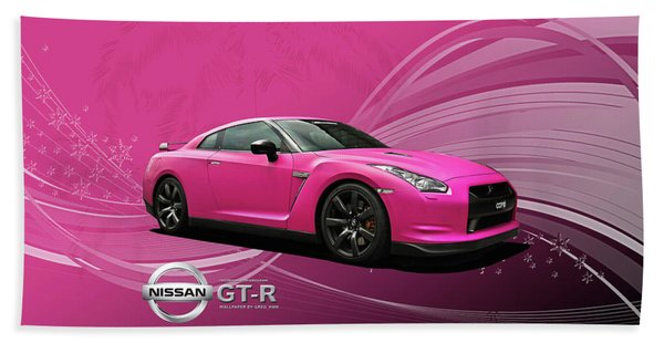 38217 Nissan Gt R  Hand Towel